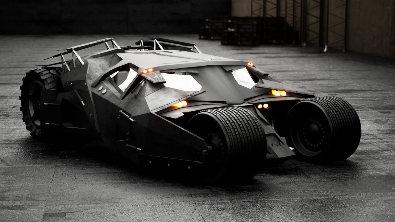 A unique car themed after Batman's iconic Batmobile has suffered severe damage upon colliding with a Renault Scenic near Téteghem, France. Both drivers got off cheaply with only some minor bruises.