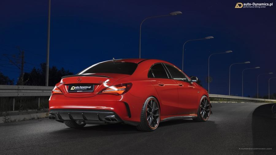 The engineer team over at Auto-Dynamics.pl has come up with an extensive performance upgrade for the Mercedes-AMG CLA 45 (C117).