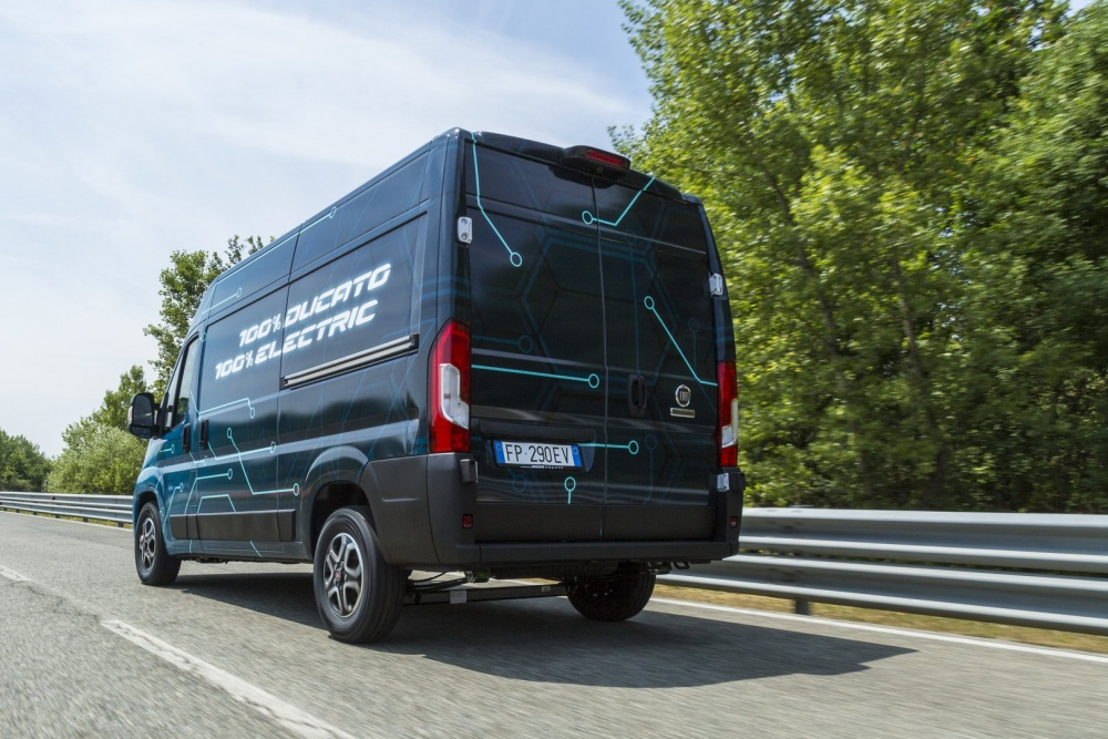 In an official statement issued earlier today, Fiat said it intended to expand its product range to include all-electric vehicles. The lineup will begin with the Professional (LCV) Ducato van, which the company revealed during a private showing a few days ago. The premiere and launch dates remain unannounced.