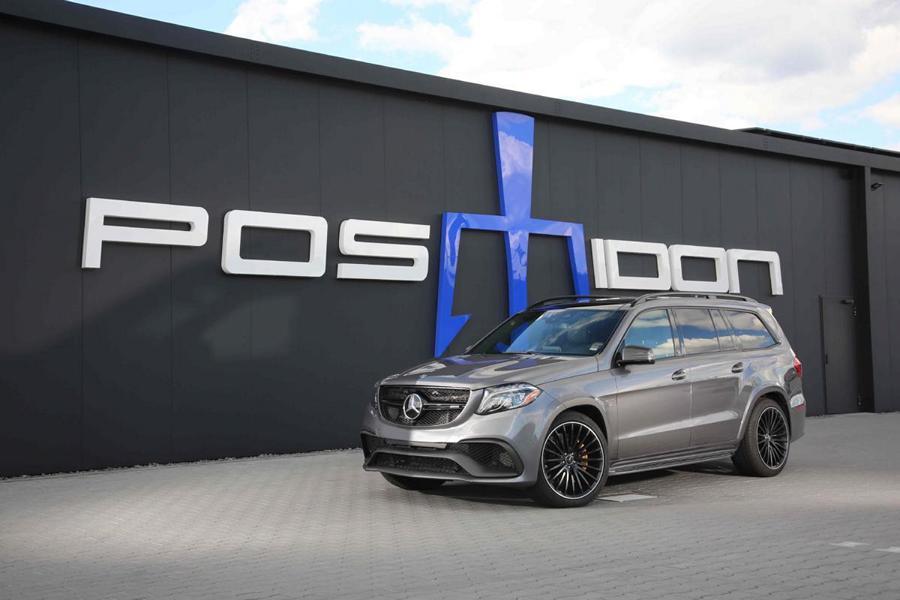 Мастерская Posaidon представила апгрейд производительности для флагманского внедорожника Mercedes-Benz GLS 63 4MATIC прошлого поколения (X166).