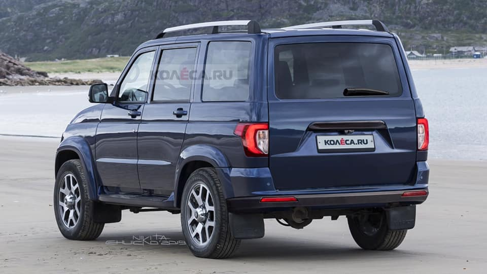The authorized dealer of Russian car marque UAZ in Belgium announced earlier today that the Patriot SUV line would soon be available with a 2.2-liter Ford diesel engine. No details or ETAs were provided.