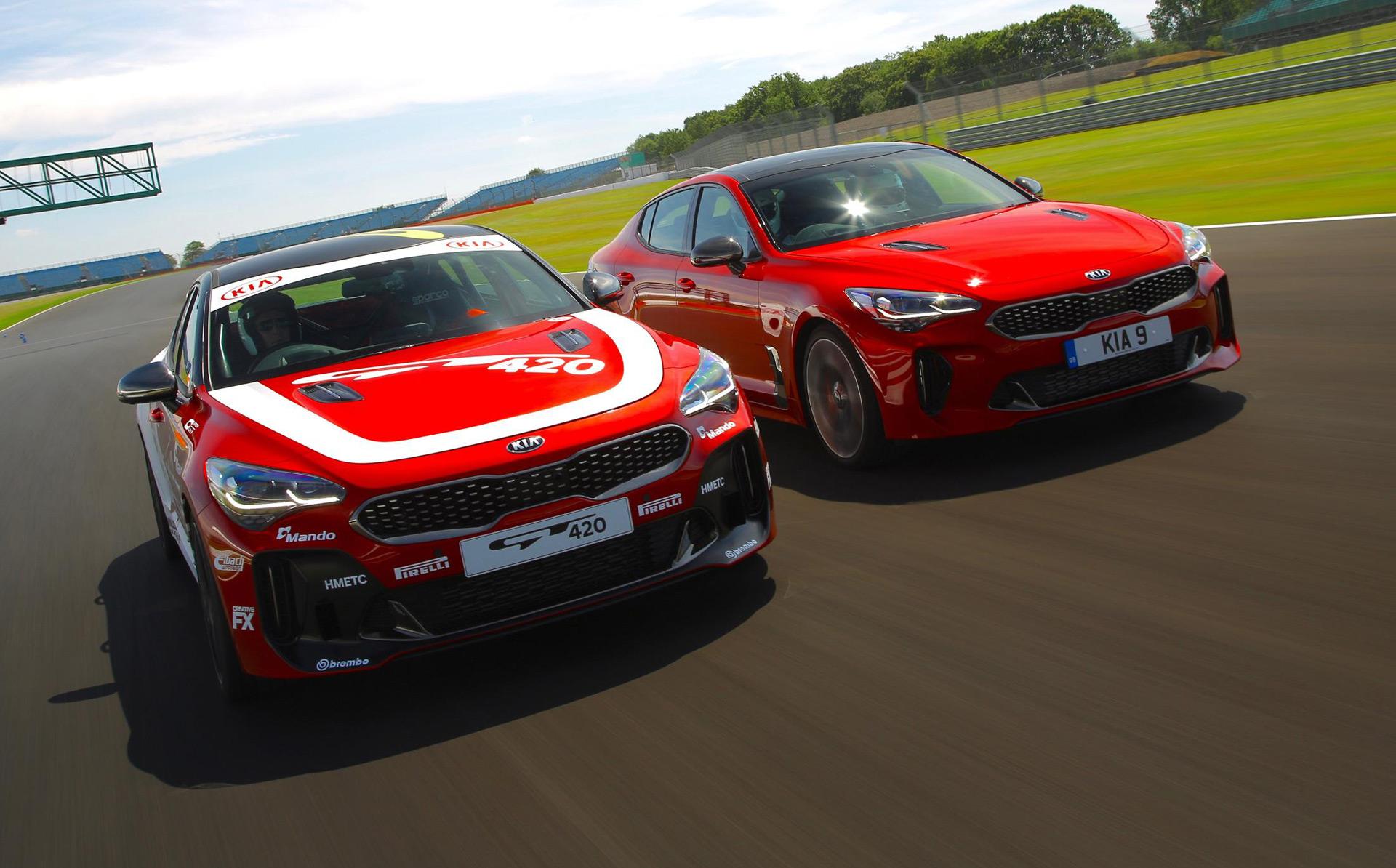 Kia Stinger GT420 shows track potential of Korean sport sedan