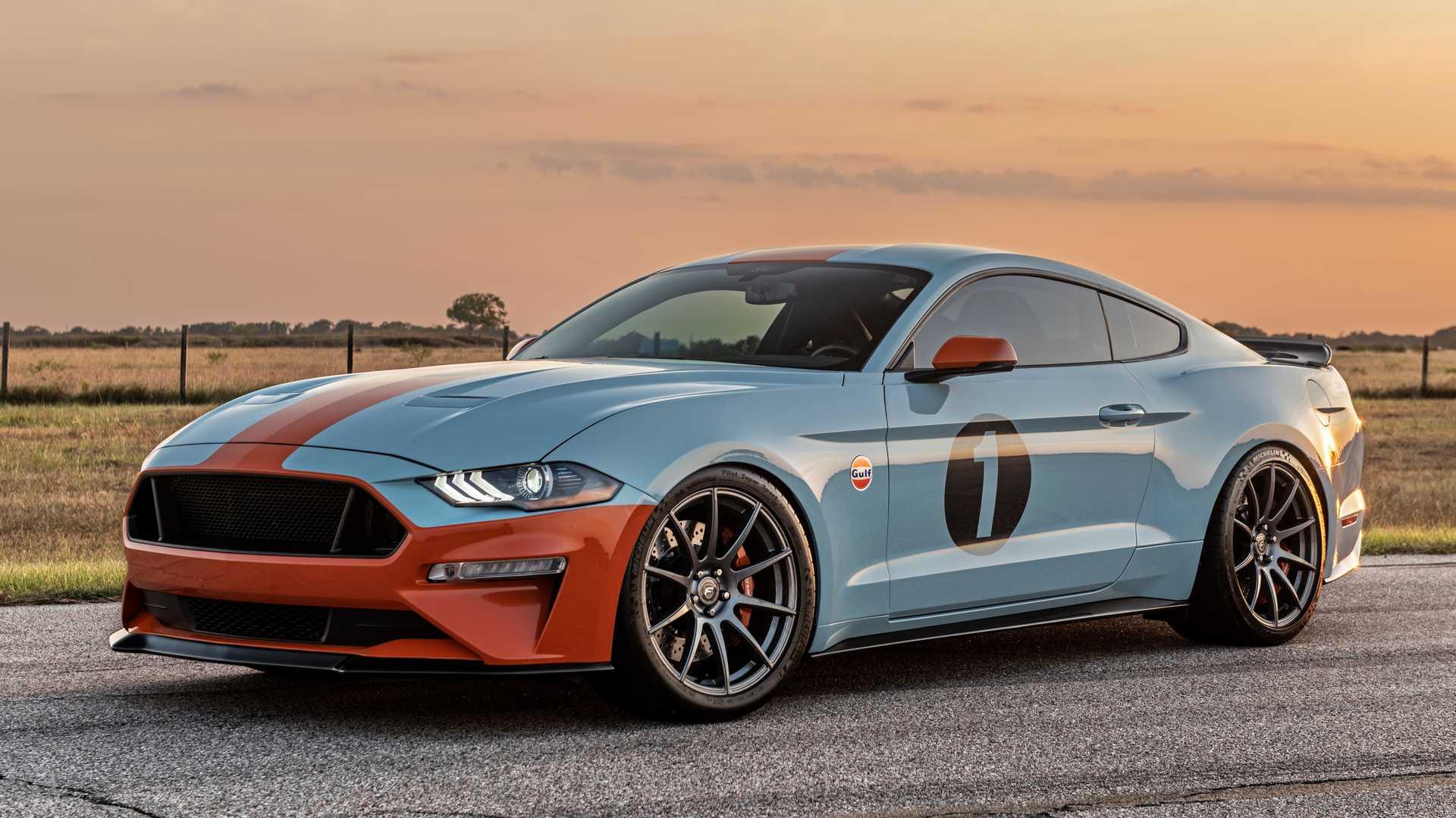 Американский тюнер Brown Lee Performance построил спецверсию Ford Mustang в лемановской ливрее Gulf. Лимитированную серию посвятили гоночной истории «Форда».