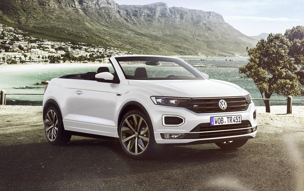Консервативная компания решила сделать необычный шаг: VW выпустит T-Roc Cabrio. Продажи начнутся весной следующего года.