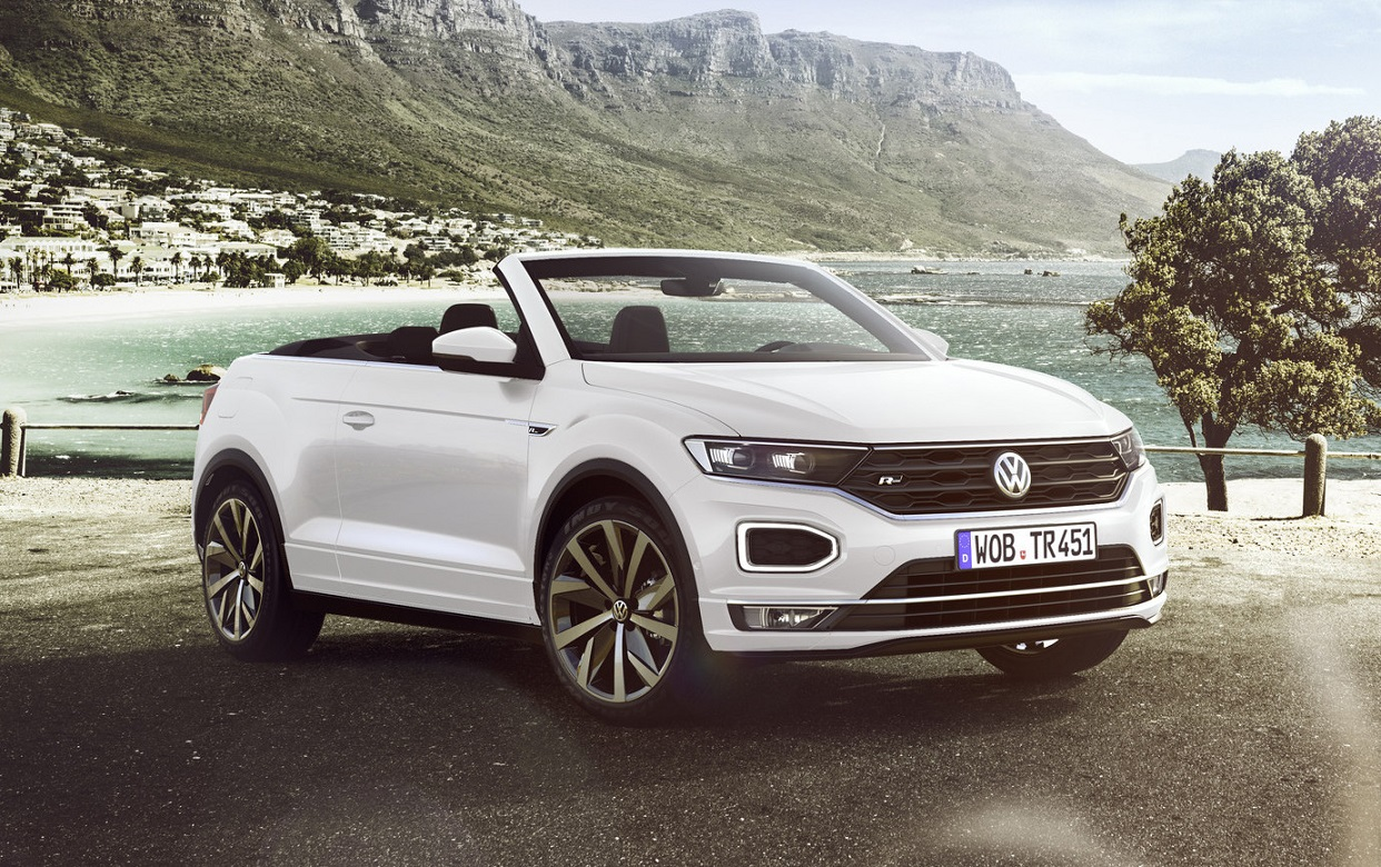 As conservative as the German automotive giant may be, VW can still surprise in a good way sometimes. The company will be releasing a soft-top variant of its T-Roc SUV in the spring of 2020.