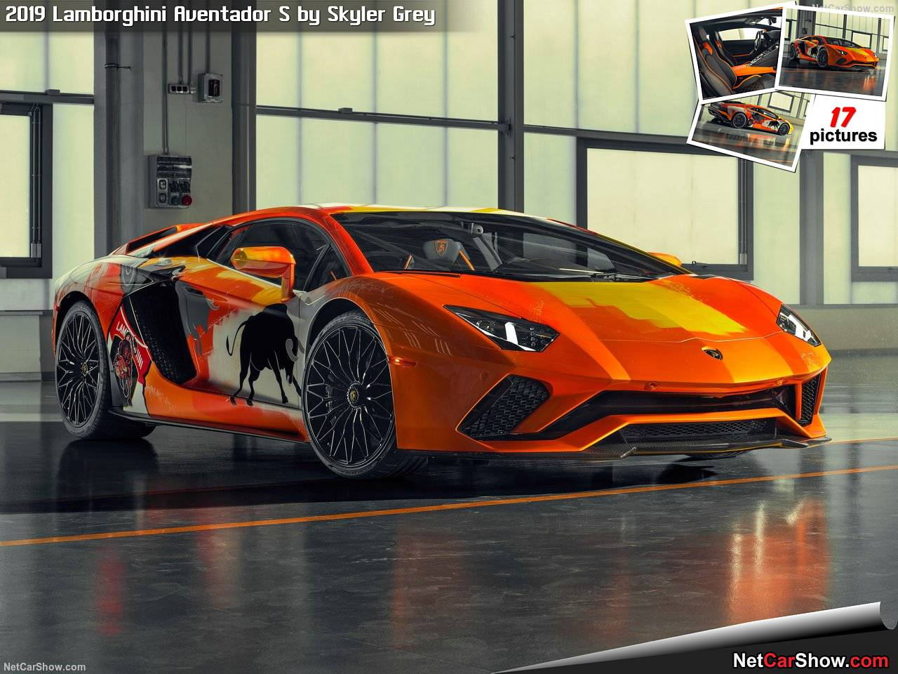 The resplendent vehicle you can see here is a result of cooperation between Lamborghini and Skyler Grey, 19, from Los-Angeles.