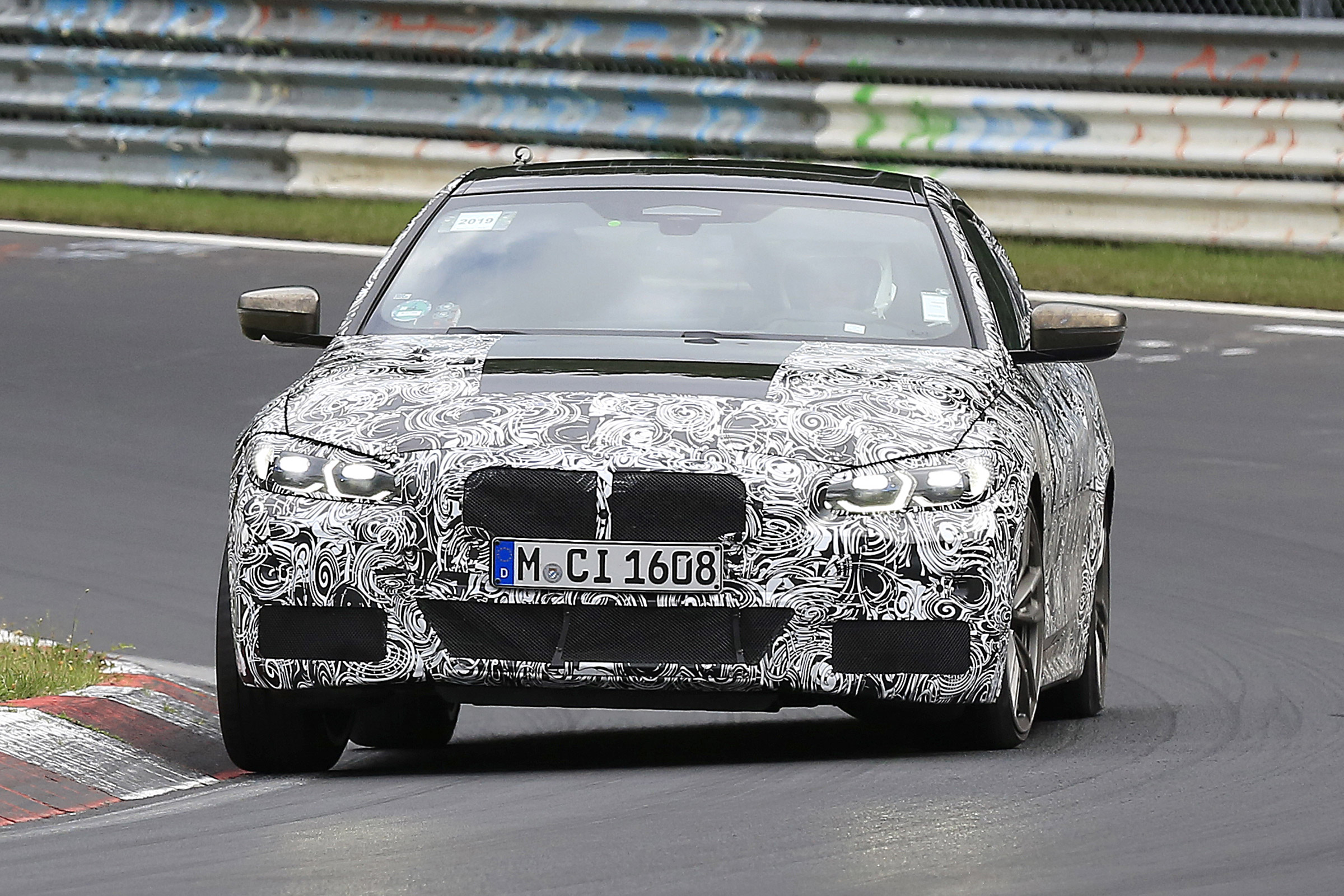 If these spy shots are any indication, BMW will be unveiling a new coupe-shaped concept car at the upcoming International Motor Show Germany in Frankfurt on September 12-22, 2019.