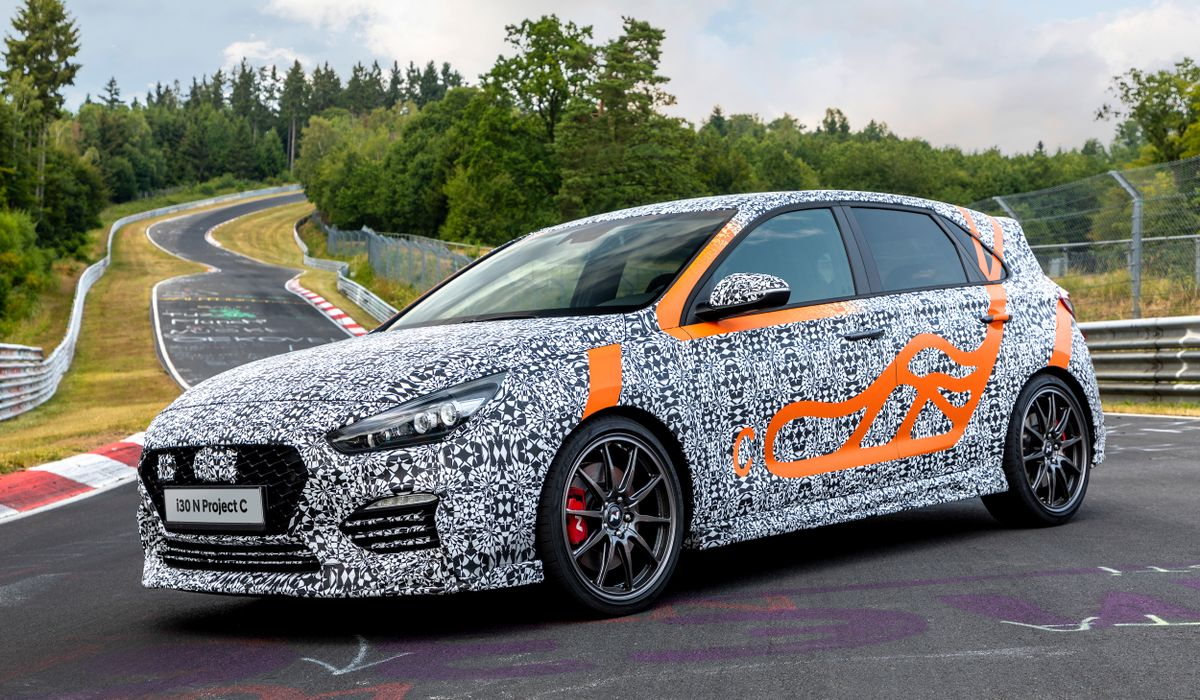 Hyundai has come out with a special edition of its i30 N hot hatch, called the Project C. The N in the model description stands for 'Namyang R&D Center', while the C denotes the Area C of the Korean carmaker's testing ground, where it usually puts its very fastest vehicles to pre-production trials.