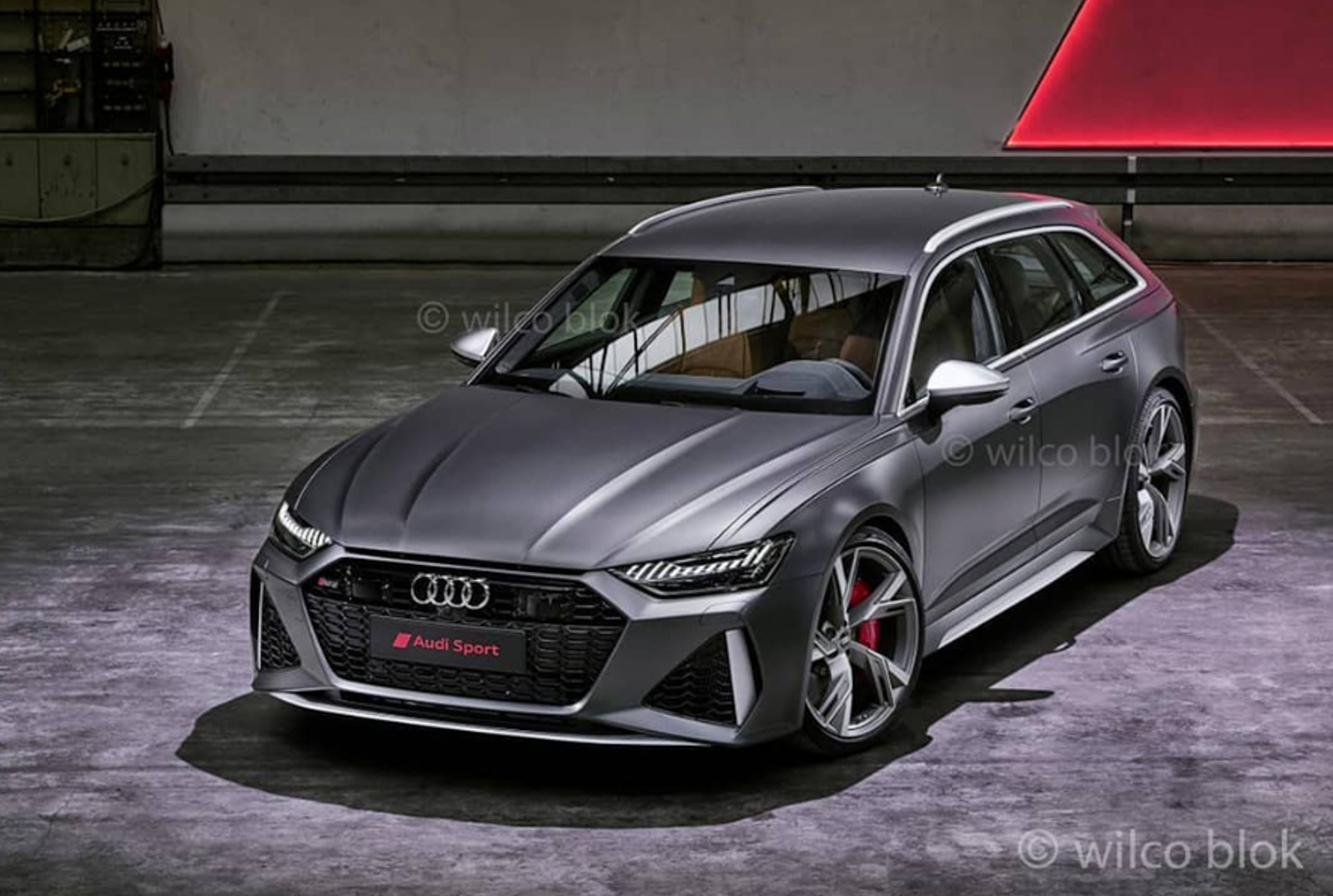 Audi has released the first official pics of its updated RS6 Avant super estate/wagon along with some technical specs and features.