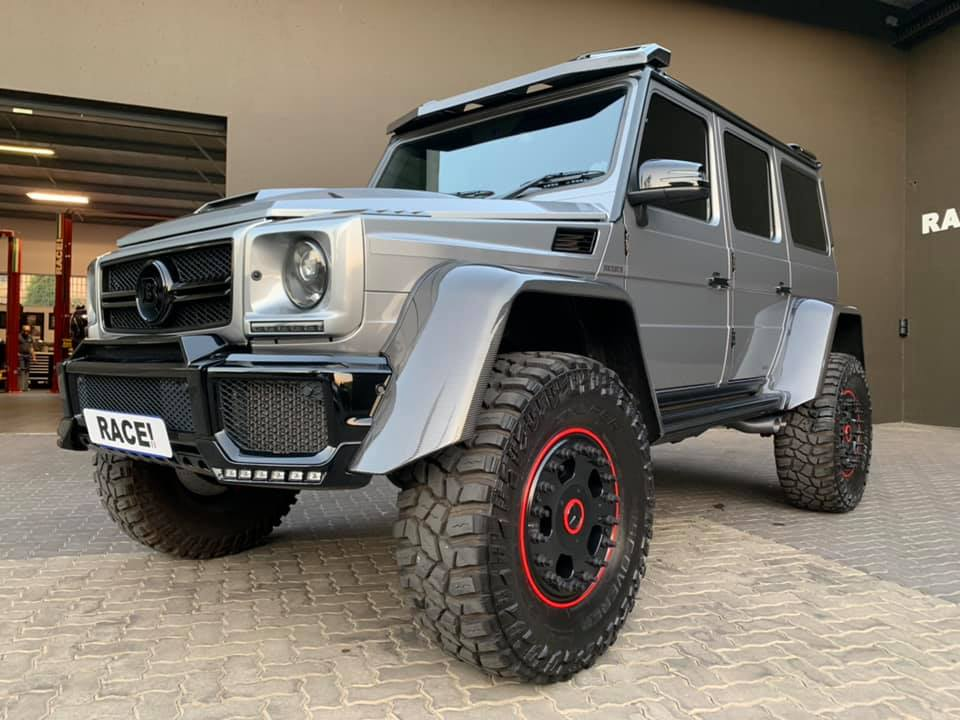 Can you believe a Mercedes-Benz G-Class G 500 4×4² can be described as 'insufficiently rugged'? Well, apparently, some go ahead and call it that. That is what tuners exist for, of course.