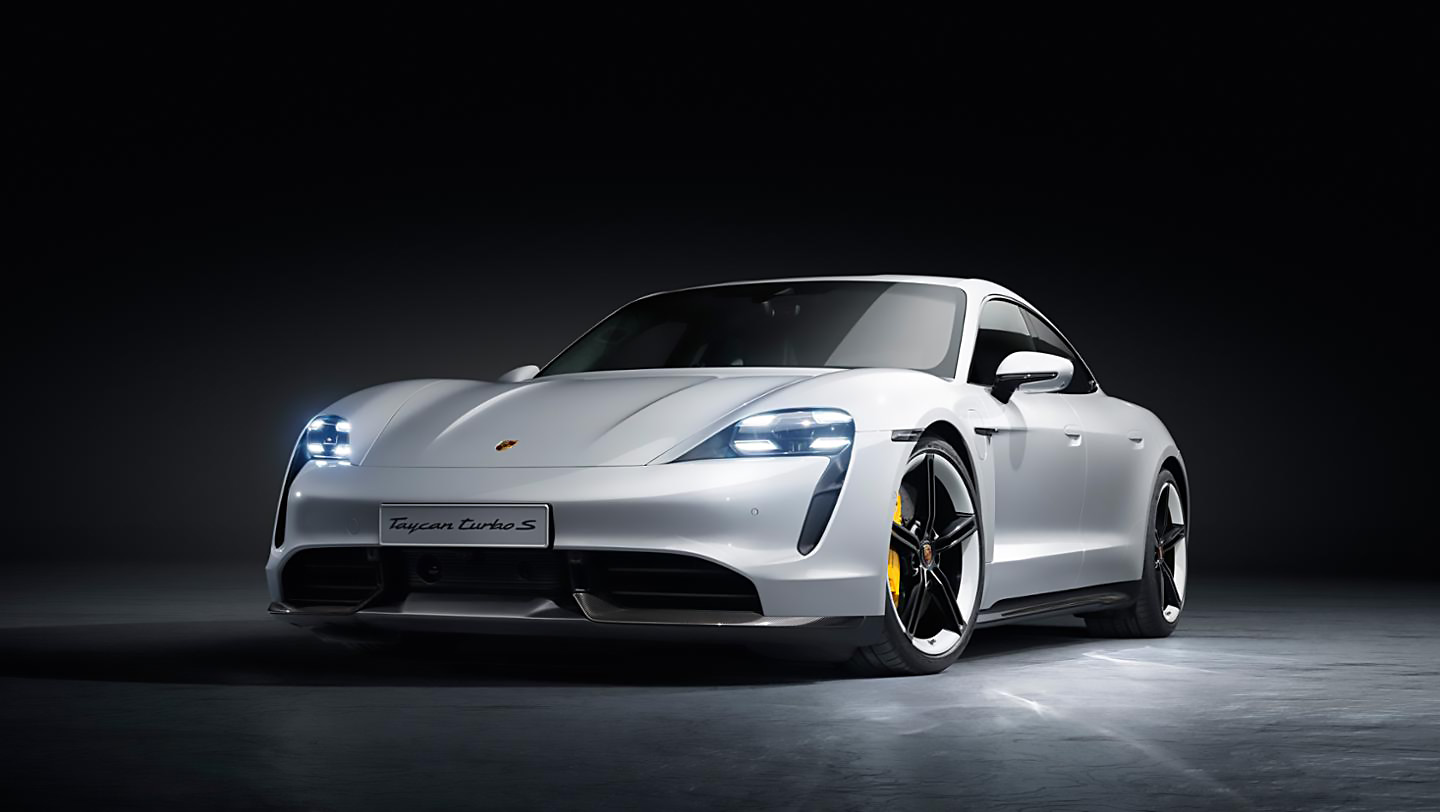 Porsche has finally torn the remaining wraps off of its first purely electric sports car, the Taycan. Reveal events have taken place in Germany, Canada and China. Let us take a closer look at the EV and its detailed specs.
