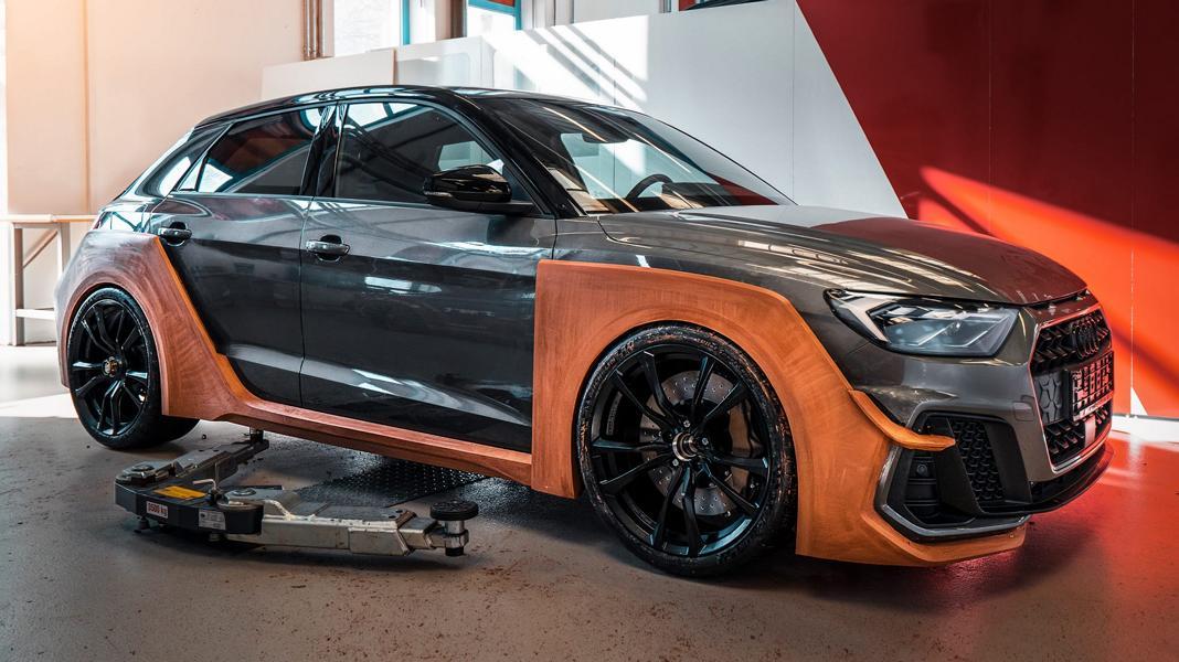 Основатель и лидер мастерской ABT Sportsline Даниэль Абт записал на днях несколько видео, посвященных созданию «самого толстого фастбэка A1 в истории». Основа проекта – Audi A1 в топовой комплектации 40 TFSI с отдачей 200 л.с. и 320 Нм крутящего момента.