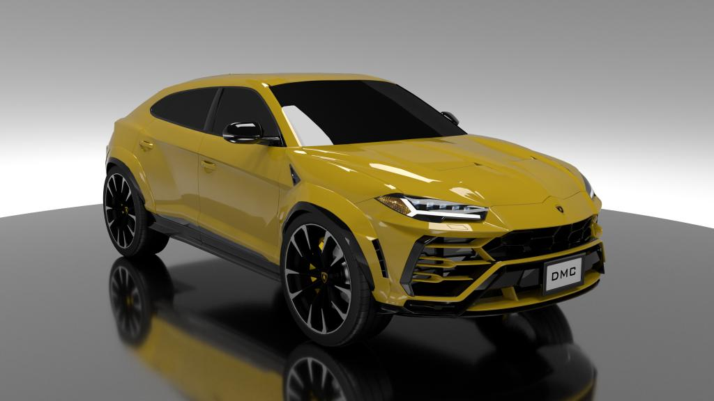 Good news for all Lambo Urus owners out there: DMC has released a Stage 1 tuning kit for the ultra-deluxe SUV. The main emphasis is on eye candy, but the engine gets its share of attention as well.