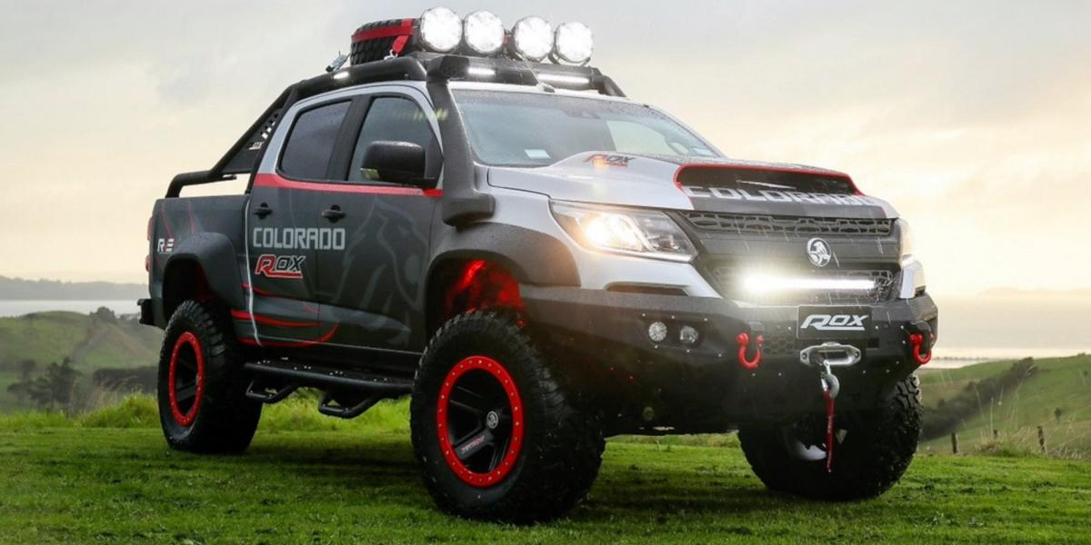 Holden New Zealand revealed the unique Colorado Rox Concept 2.8L XLD28 pickup truck last year. Recently, the car has made an appearance on the Muriwai Beach near Auckland. Let us savor the moment and have another look at it, shall we?