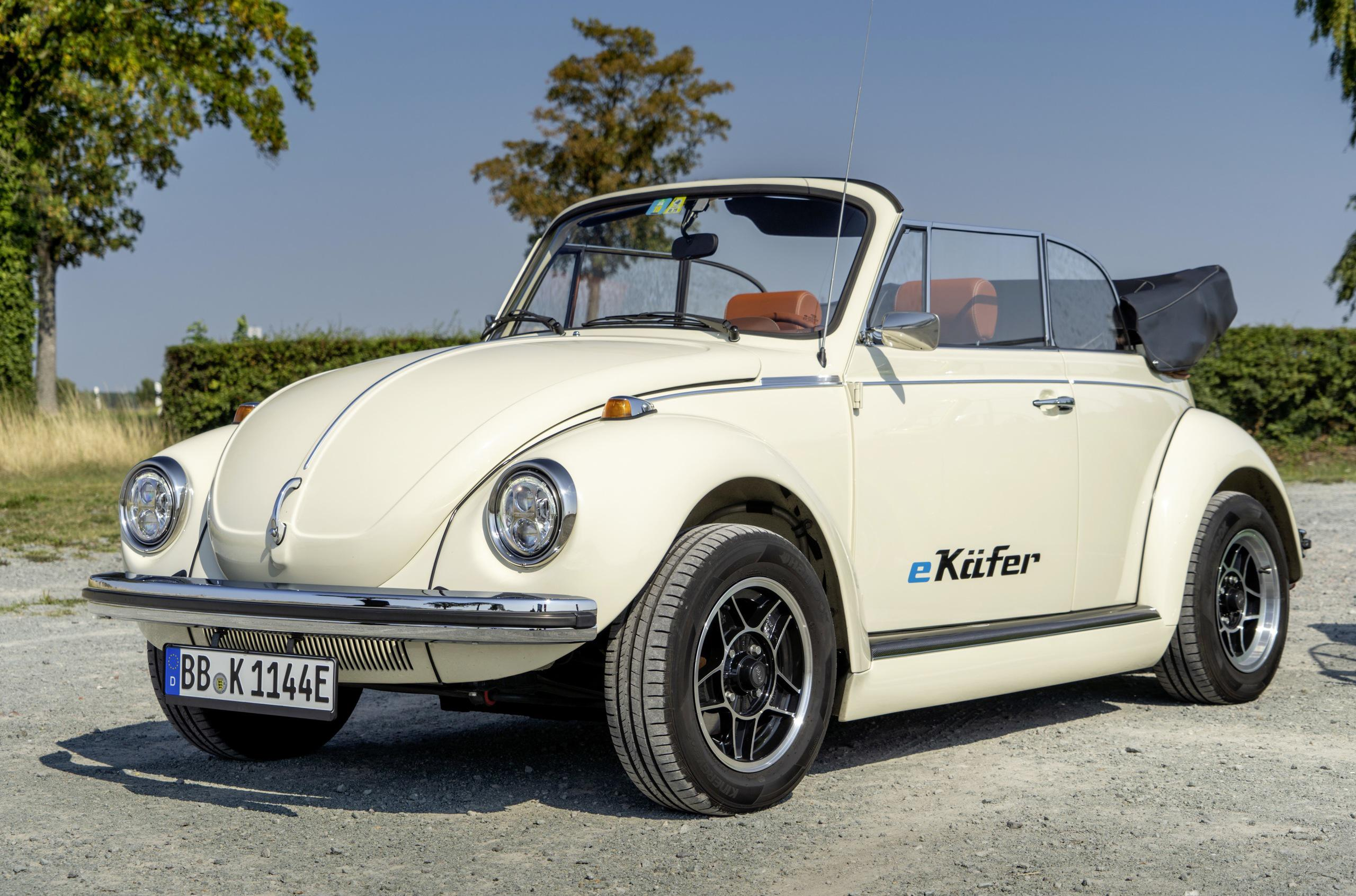 VW will be coming to the IAA Frankfurt show this year with an electric conversion of the vintage Beetle. Volkswagen Group Components is responsible for the project.