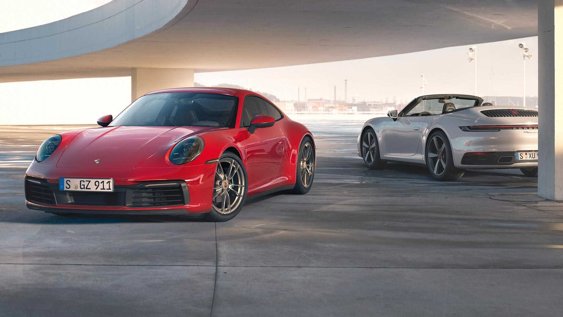 The most affordable Porsche 911 Carrera sports car series will now ship with a new all-wheel-drive system as a standard feature