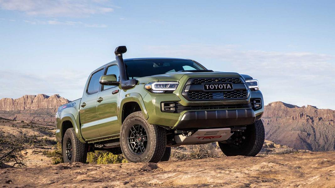 Toyota Racing Development has refreshed its 'accessorized' version of the Tacoma pickup truck. The car will go on sale alongside the main facelifted series.