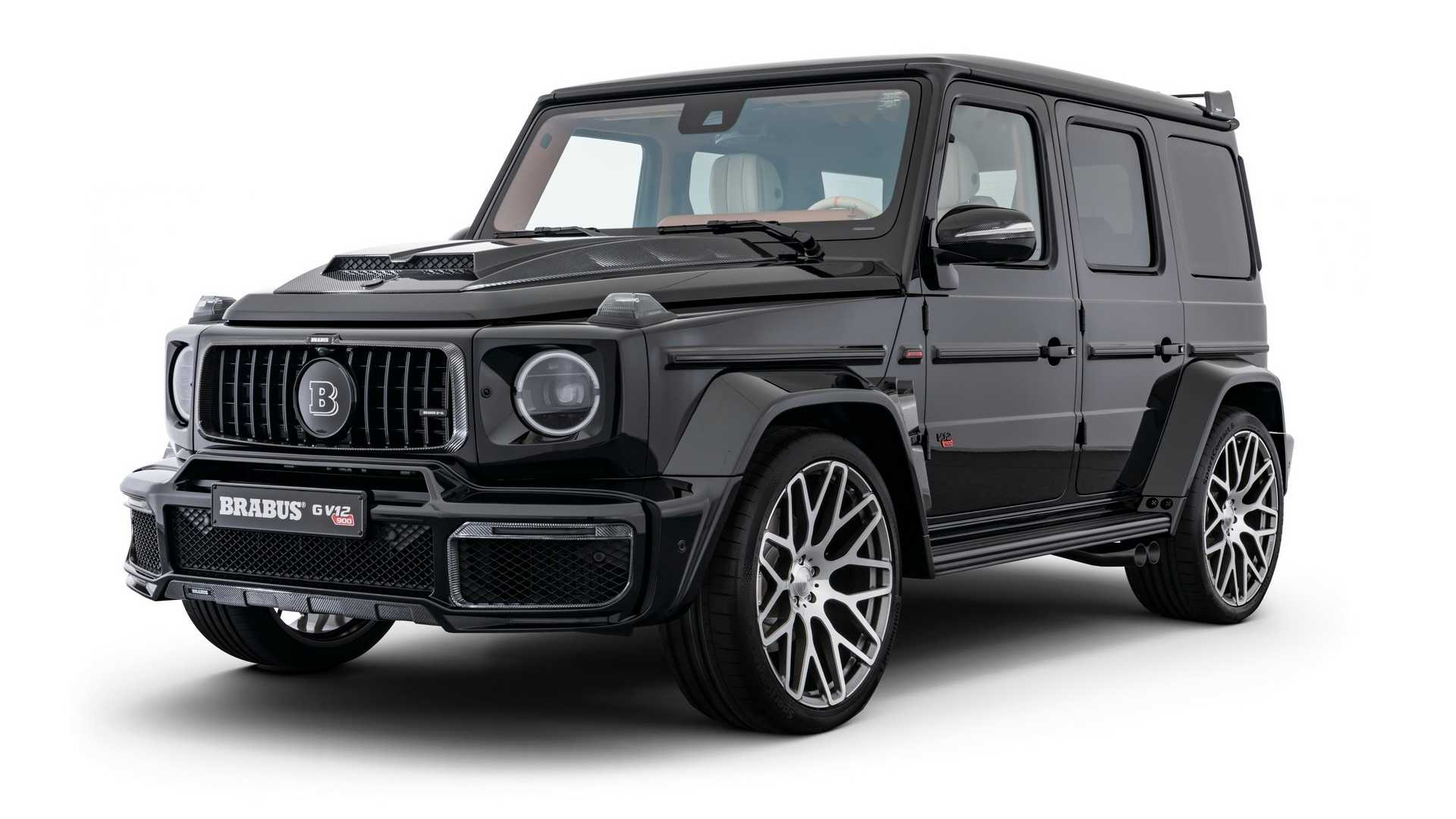 Brabus has come to the 2019 International Motor Show Germany (IAA Frankfurt) with a very special Mercedes G-Class, dubbed the 'G V12 900 One of Ten'. As you can guess, the production run will be kept down to 10 copies.