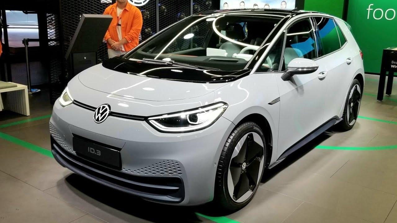 Состоялась премьера электрокара Volkswagen ID.3. Как и было заявлено, новинка получила электродвигатель, развивающий 204 л. с. и 310 Нˑм. Максимальная скорость – 160 км/ч.