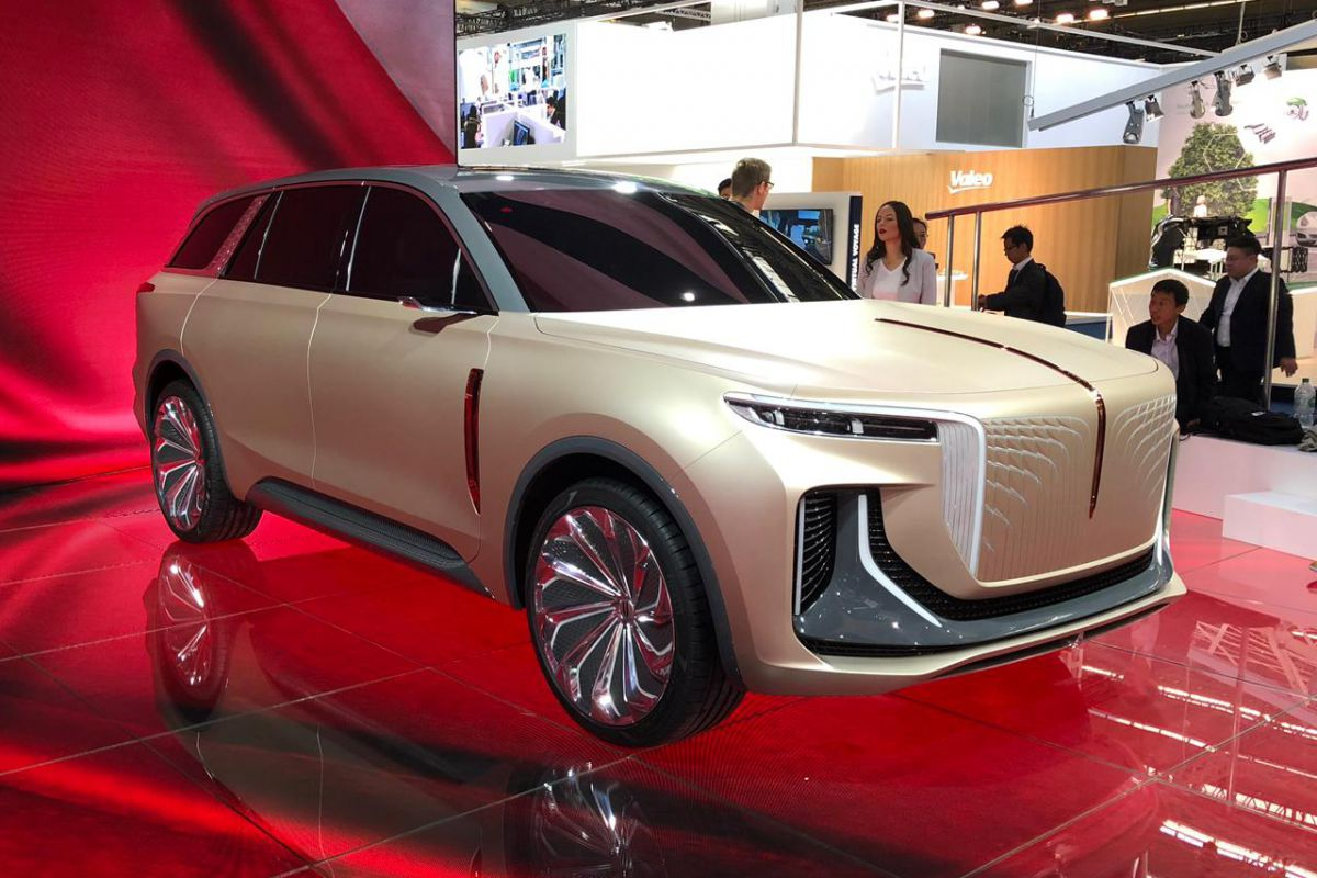 Hongqi, a Chinese automotive brand and part of the FAW Group, has brought several new cars to the IAA 2019, including this E115. The company says its first all-electric SUV will become a mass-produced model eventually, but doesn't give any kind of timeframe.