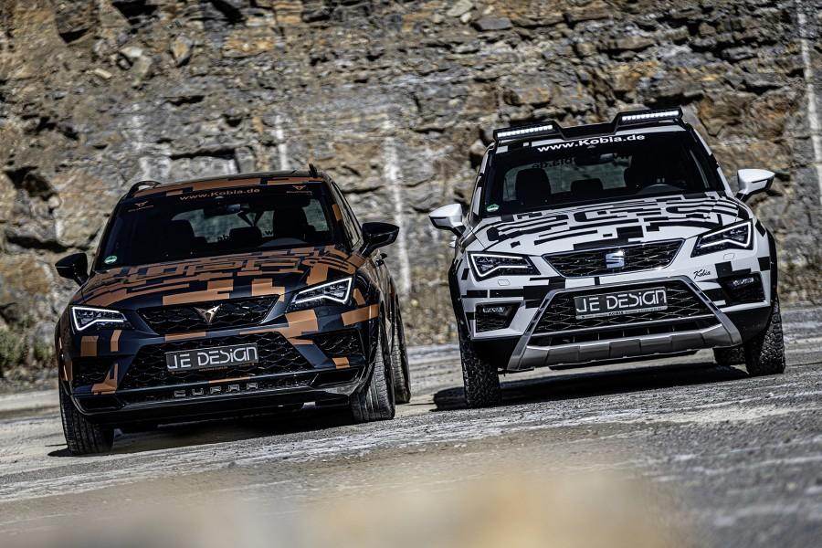 Late last year, German customization shop JE Design launched sales of a styling kit called All Terrain for the latest Seat Ateca (5FP). A few days ago, the same package was made available for the much sportier Ateca Cupra.