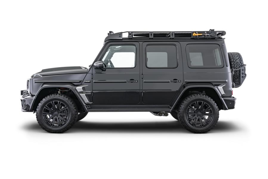 Simultaneously with the Brabus G V12 900 'One of Ten', the famous German tuning shop unveiled another similar package for the latest Mercedes G-Class (W463A).