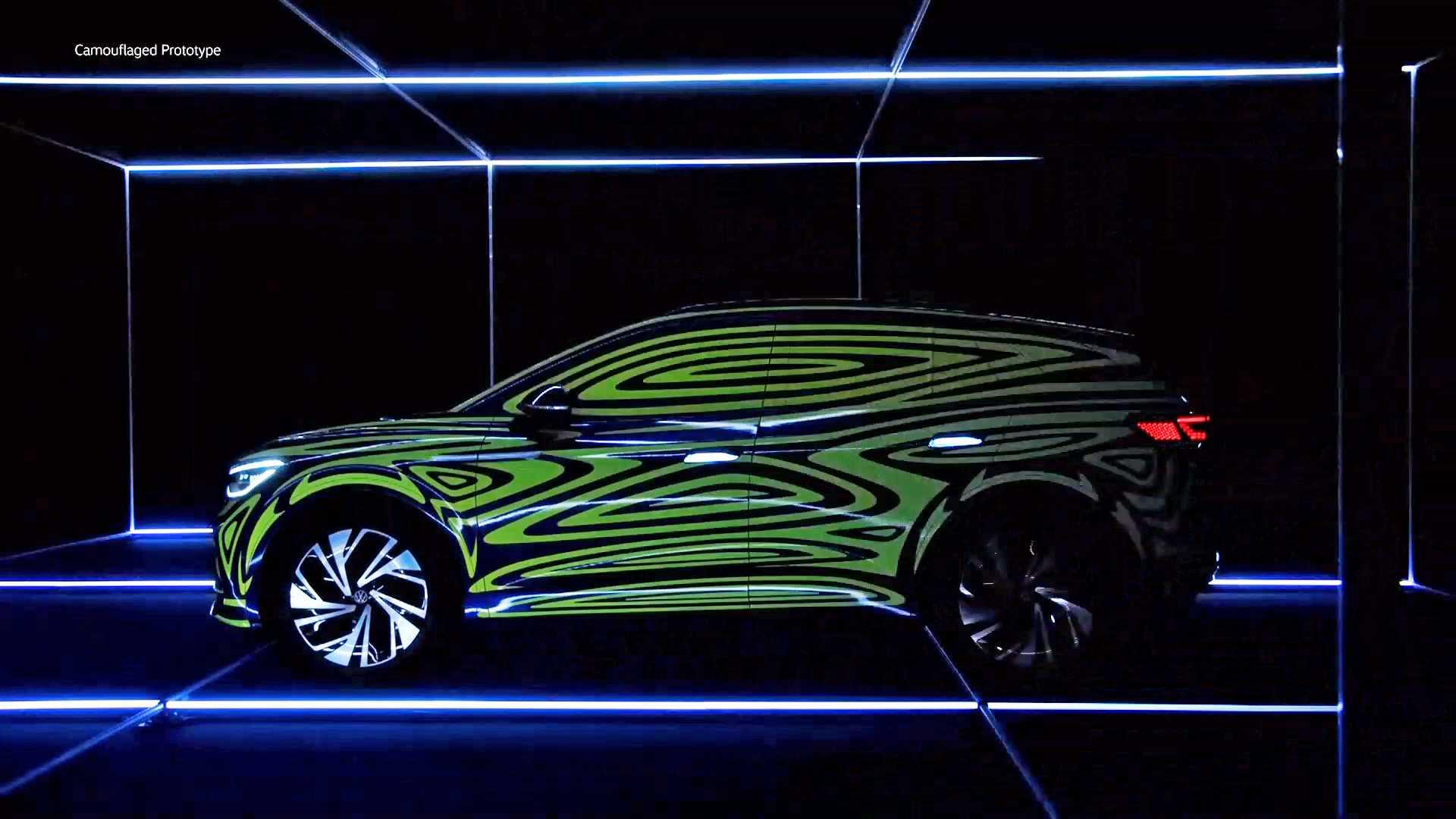 На стенде компании Volkswagen во Франкфурте продемонстрирован прототип, который, вероятно, ляжет в основу будущего электрокроссовера.