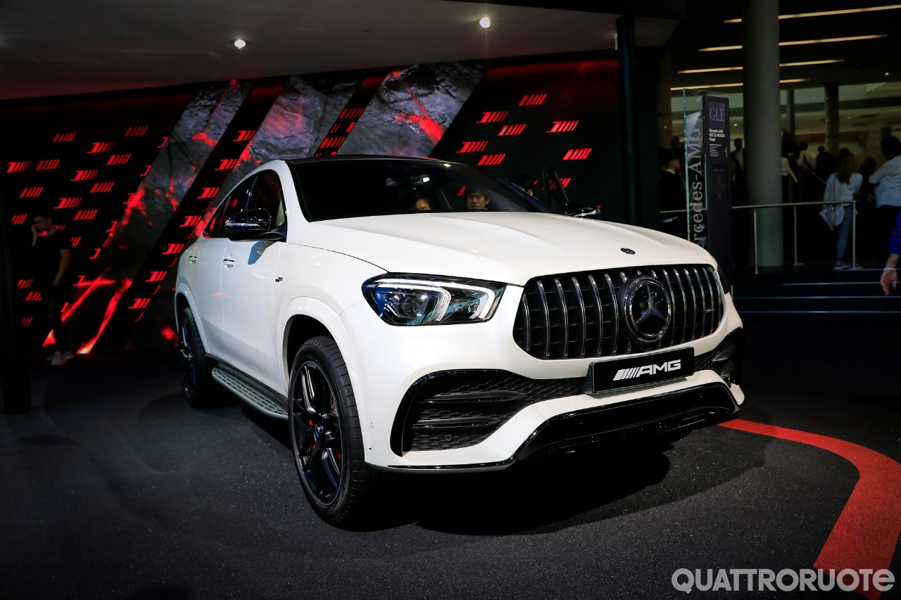 The new SUV-shaped Mercedes-AMG GLE 53 Coupe has made a live appearance at the currently ongoing International Motor Show in Frankfurt, Germany.