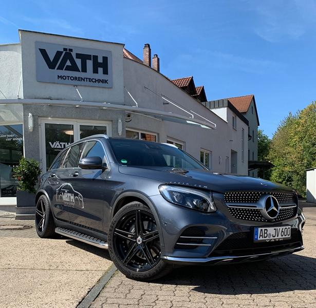 German tuner VÄTH Automobiltechnik GmbH has added a Mercedes-Benz GLC 220d (X253) to its portfolio. The modded SUV has more power and sports an exhaust actuator, a stance and 20-inch forged wheels.