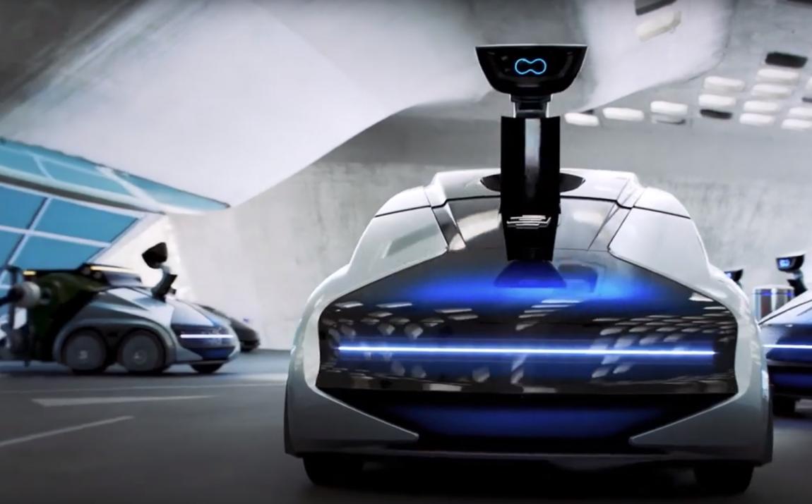 В рамках Франкфуртского автосалона немецкая фирма EDAG продемонстрировала своё видение беспилотной транспортной системы под названием CityBot, предназначенной для выполнения множества задач.
