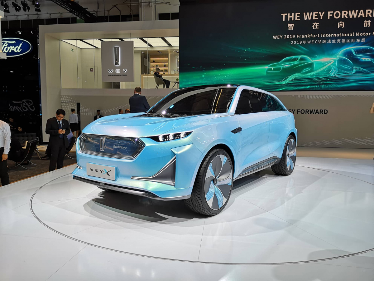 Straight after introducing its all-electric SUV concept called the S, Chinese carmaker Wey proceeded to unveil another utility vehicle: the Wey-X.