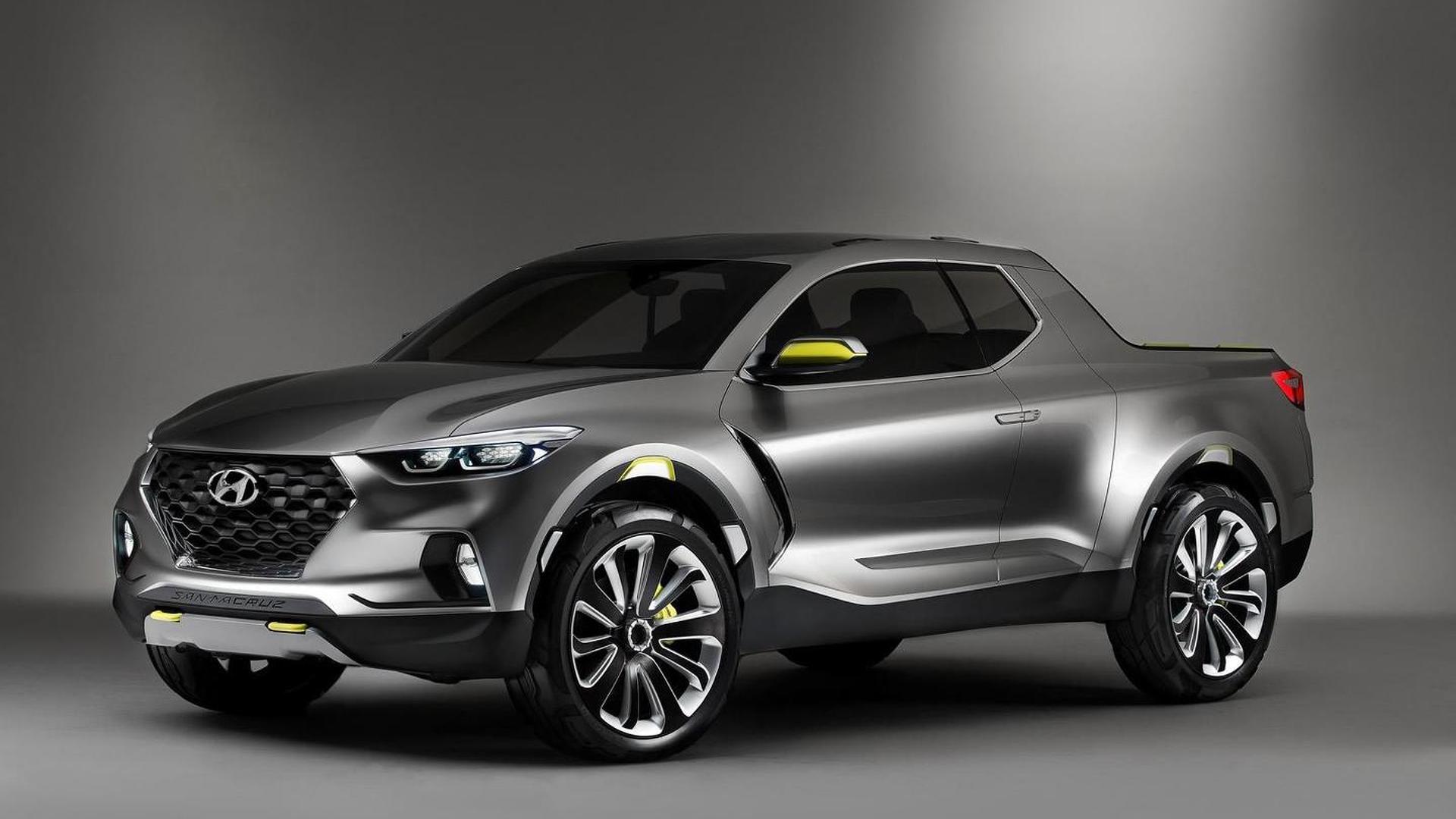 Корейская компания Hyundai планирует выпустить пикап, первым прототипом которого стал концепт Santa Cruz 2015 года (на фото и видео). Подробной информации о новинке пока нет, но уже известно, что авто может получить «горячую» модификацию.