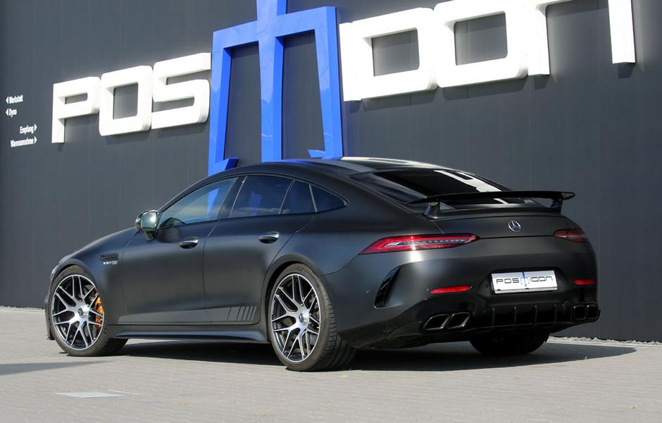 German tuner Posaidon has unveiled a performance upgrade for the opulent Mercedes-Benz AMG GT 63 S 4-Door Coupe 4Matic+. The numbers are quite impressive!