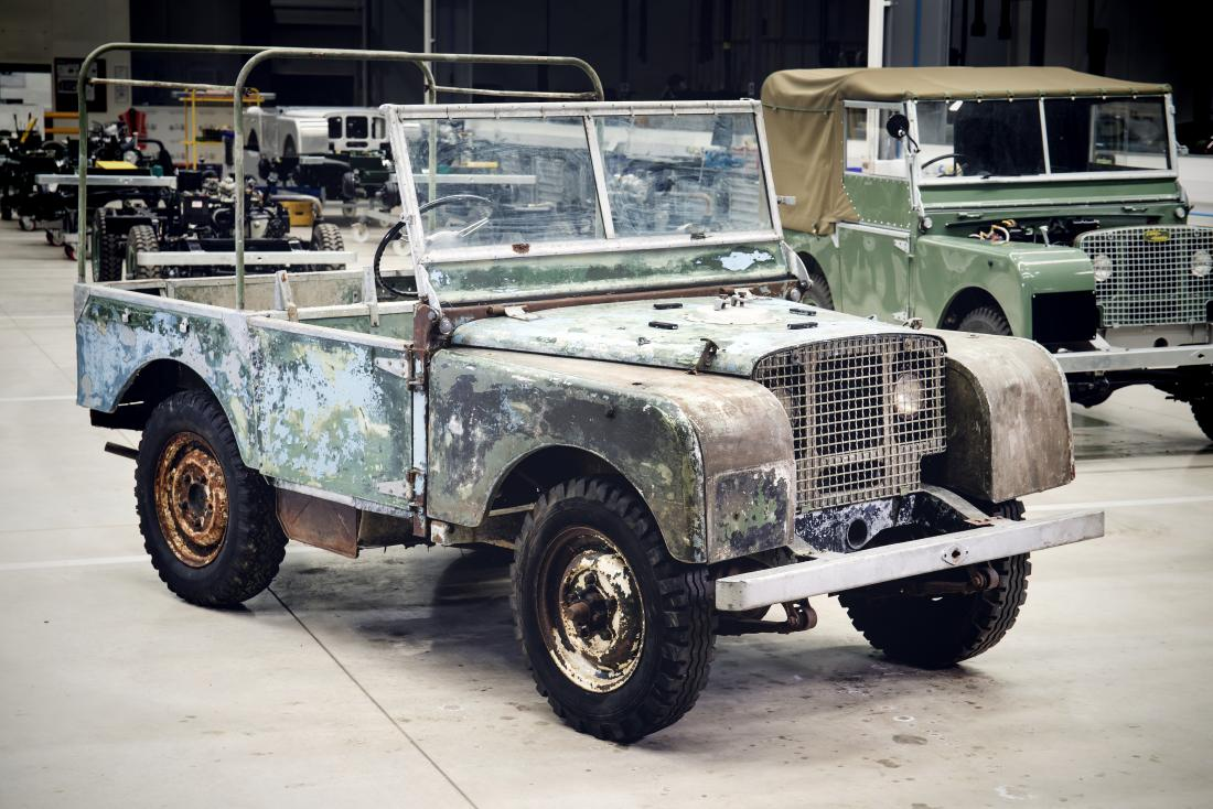 Land Rover Classic has finished refurbishing a pre-production copy of the 1948 Land Rover that everyone believed was lost back in the 1960s.