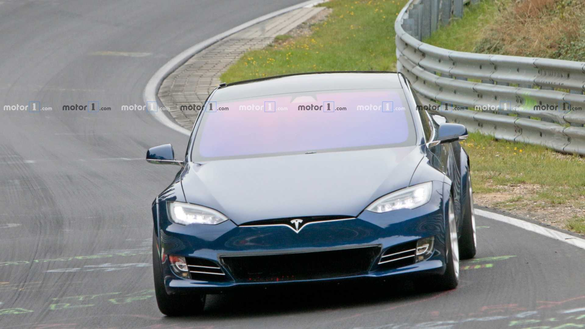 An experimental, engine-swapped Tesla Model S prototype has made a test run at the Nürburgring Circuit in Germany. A media reporter present at the event noted the lap time and discovered that the EV crossed the finish line 19 seconds ahead of its archrival, the Porsche Taycan.