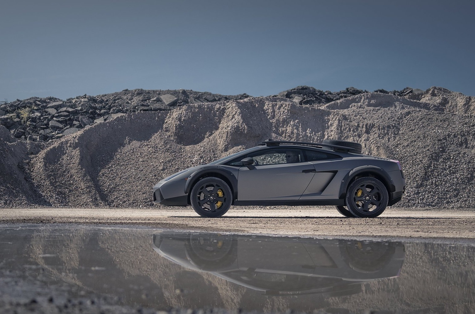 Classic Yountimer Consultancy, a Netherlands-based auto dealership, has expanded its assortment to include a hardcore off-road variant of the Lamborghini Gallardo. The car features a lift kit, plastic guard plates and a V10 under the hood, and comes priced at €115,000.