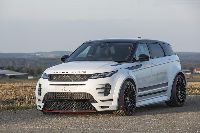 Popular European car tuner, LUMMA Design, has launched a range of aftermarket options for the current Range Rover Evoque. Fancy a glimpse?