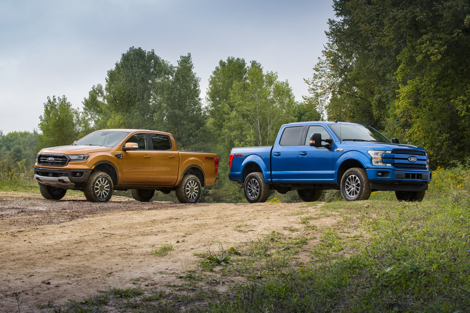 Ford Performance has launched suspension leveling kits for the latest-gen Ranger and F-150 pickup trucks. Both upgrades are tailored to the needs of those often needing to drive away from the trodden paths.