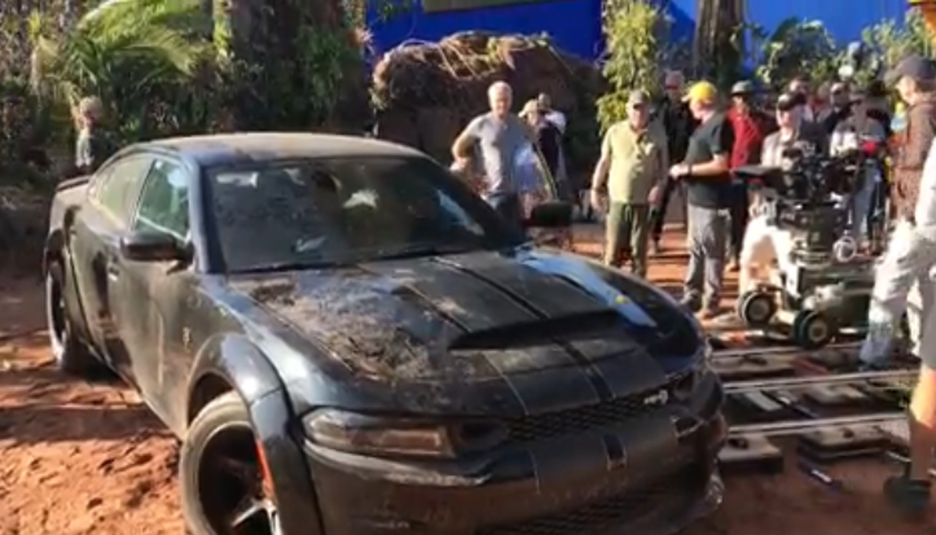 Vin Diesel, also known as Dominic 'Dom' Toretto to all devout Fast & Furious fans, has posted a video on his Instagram channel featuring him climbing out of his tuned Dodge Charger SRT Hellcat Widebody.