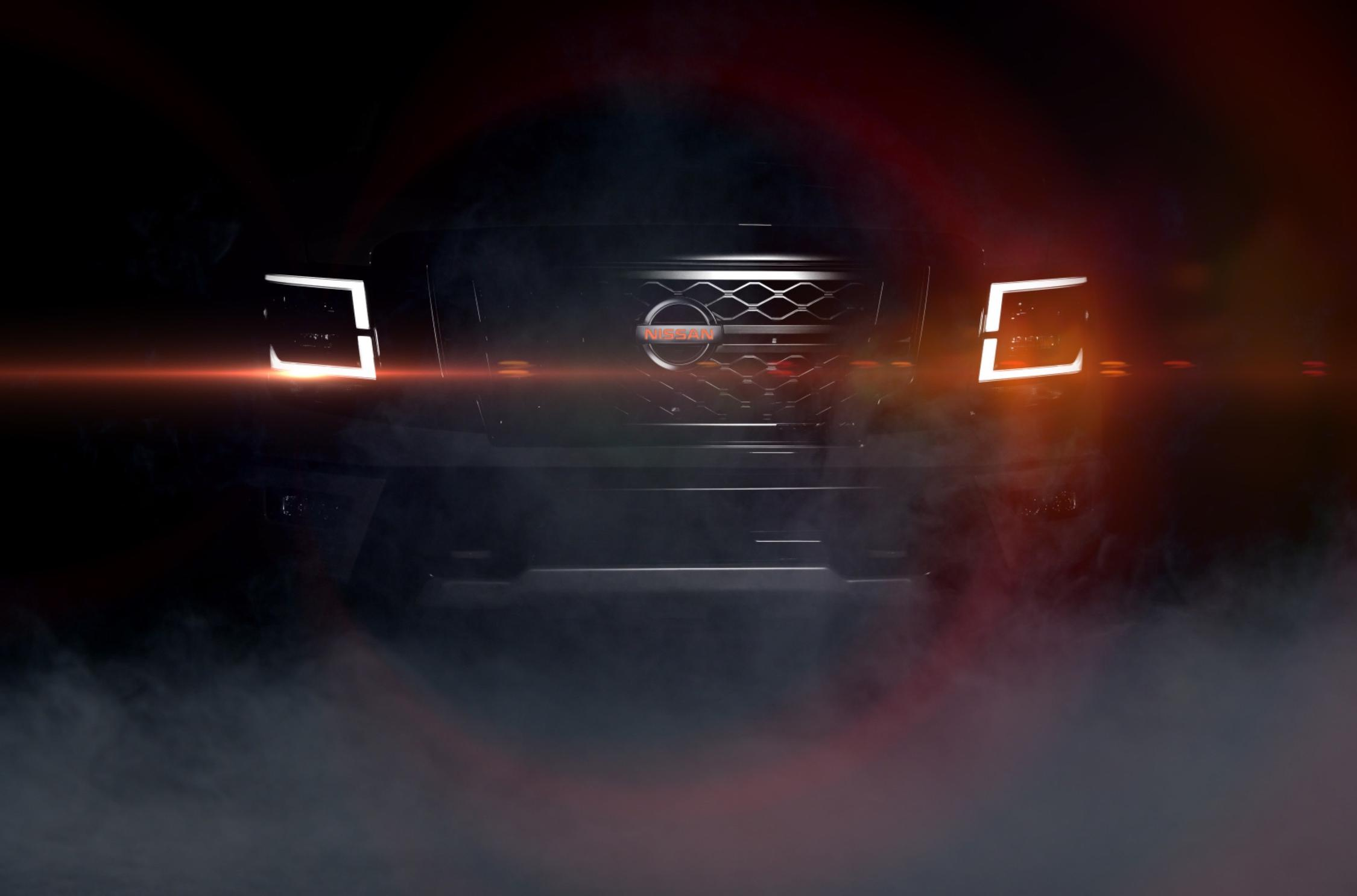 Japanese carmaker Nissan has posted a teaser pic and video of its facelifted Titan truck. The car will be exhibited at the State Fair of Texas on September 26, 2019.