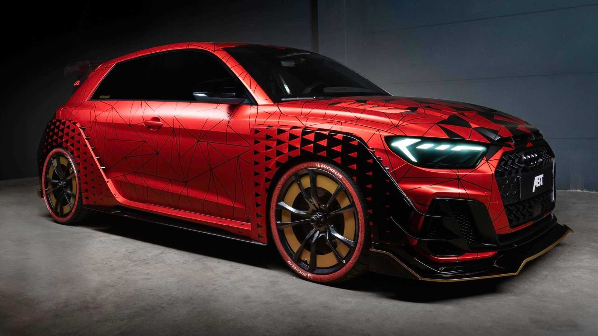ABT had already released some upgrades for the new Audi A1 hatchback, but their One of One project is a different story altogether: the car gets a racing-spec engine from the Audi TT Cup.