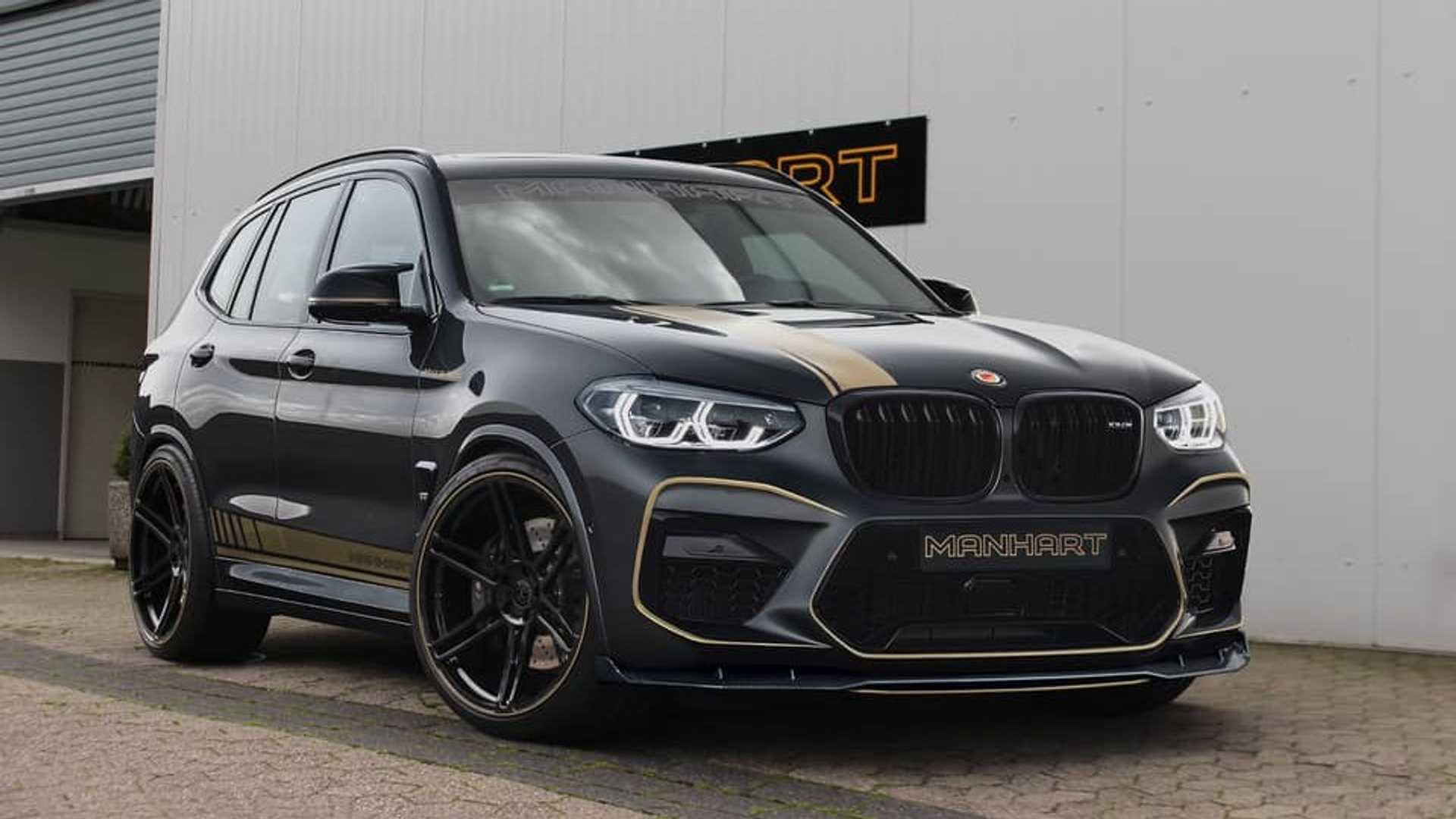 Команда ателье Manhart выпустила свою версию BMW X3 M Competition. Отдачу «шестерки» с битурбо подняли на 20%, с 510 л.с. и 600 Нм до 630 л.с. и 785 Нм.