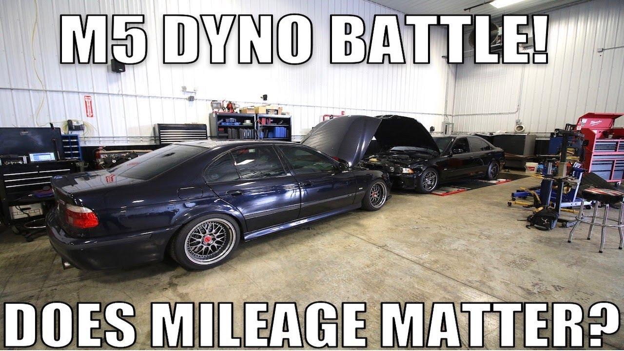Замеры мощности на динамометрическом стенде иногда преподносят сюрпризы: достаточно вспомнить кроссовер BMW Х3 М, который оказался мощнее, чем заявлено. Теперь измерена мощность двух М5 в кузове Е39 с разным пробегом.