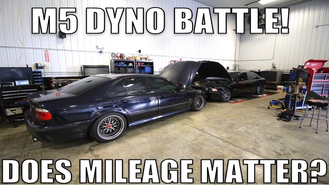 Metering cars at the dyno has been known to yield unexpected results sometimes. Today, we offer you a comparison between two identical E39 M5 with varying mileage under the belt.