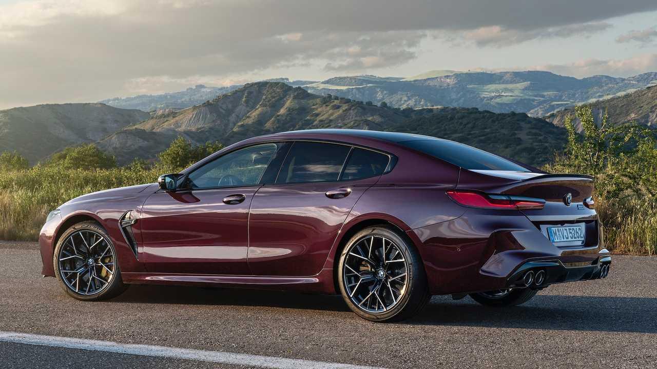Официально представлено «четырёхдверное купе» BMW M8 Gran Coupe.