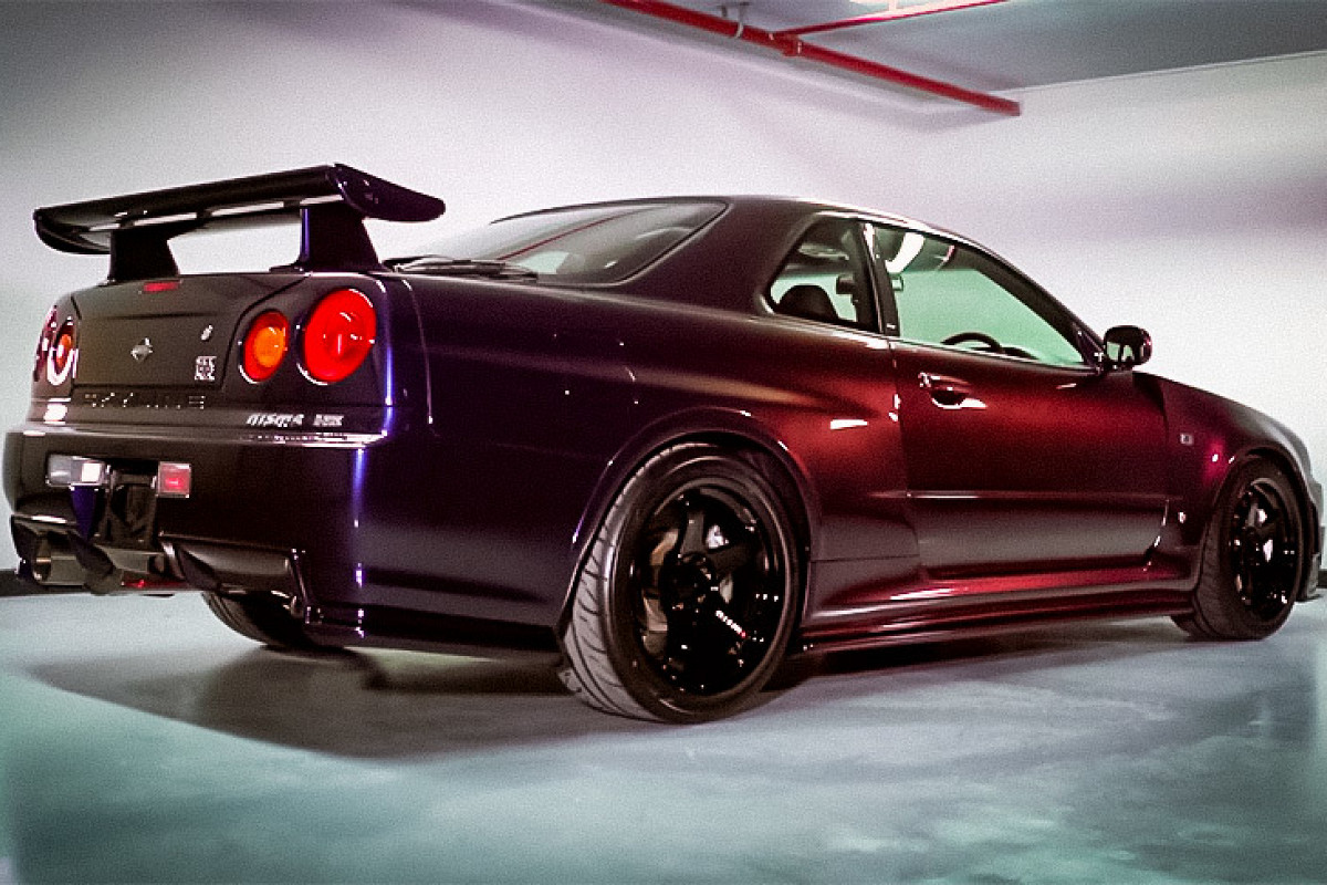 Australia-based tuner V-Spec Perfomance is offering a unique, completely restored Nissan Skyline R34 GT-R 'Z-Tune' for what translates into more than a half million U.S. dollars.