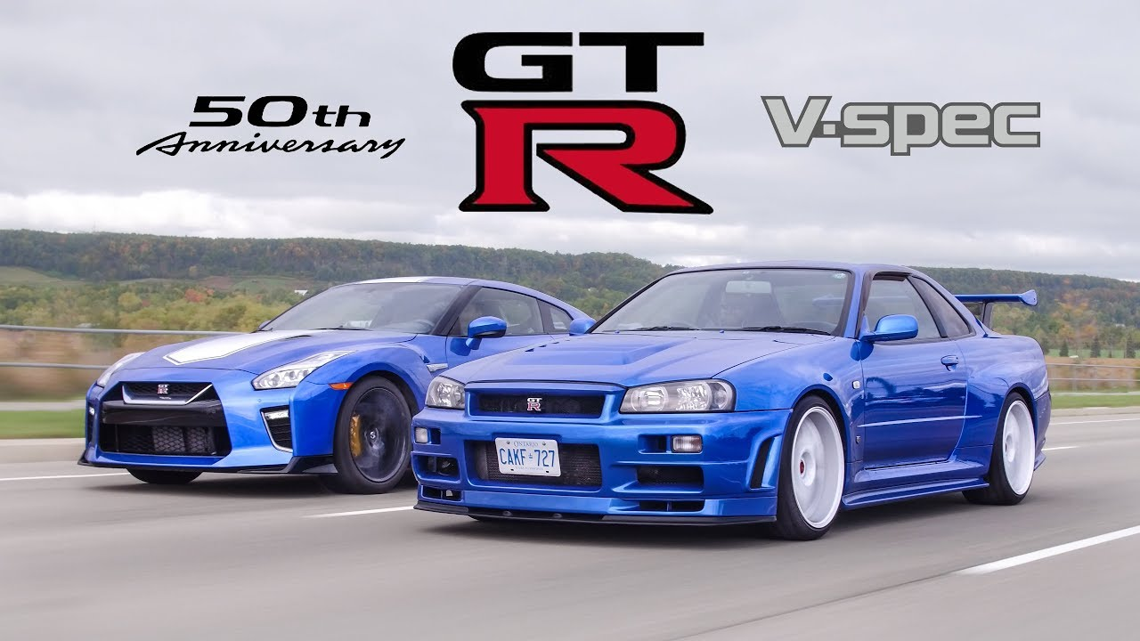 The Nissan R34 GT-R secured an enviable position in the history of the entire automotive industry long ago. But how would it compare against the Nissan R35 GT-R, which the Japanese company released to celebrate its 50th anniversary? That is what the crew of the YouTube channel The Straight Pipes wanted to find out.