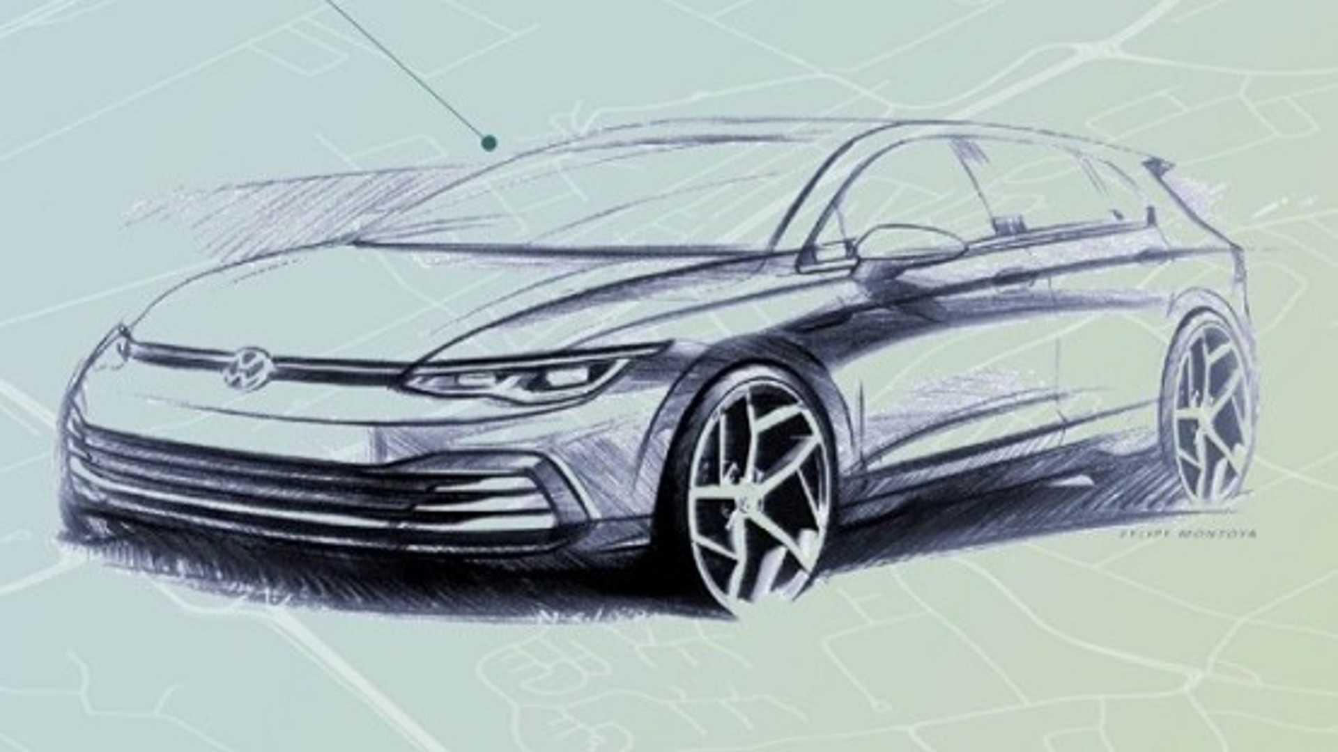 Премьера Volkswagen Golf восьмого поколения состоится уже 24 октября, а фотошпионам не раз попадались прототипы новинки. Однако производитель продолжает интриговать поклонников модели. На этот раз опубликованы дизайнерские скетчи, среди которых впервые оказались эскизы интерьера.
