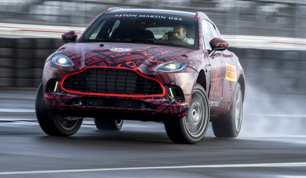 Aston Martin's first-ever crossover SUV – the DBX – is going to come out into the spotlight in December. However, a private showing just took place for a select group of media representatives and potential buyers in Moscow, Russia.