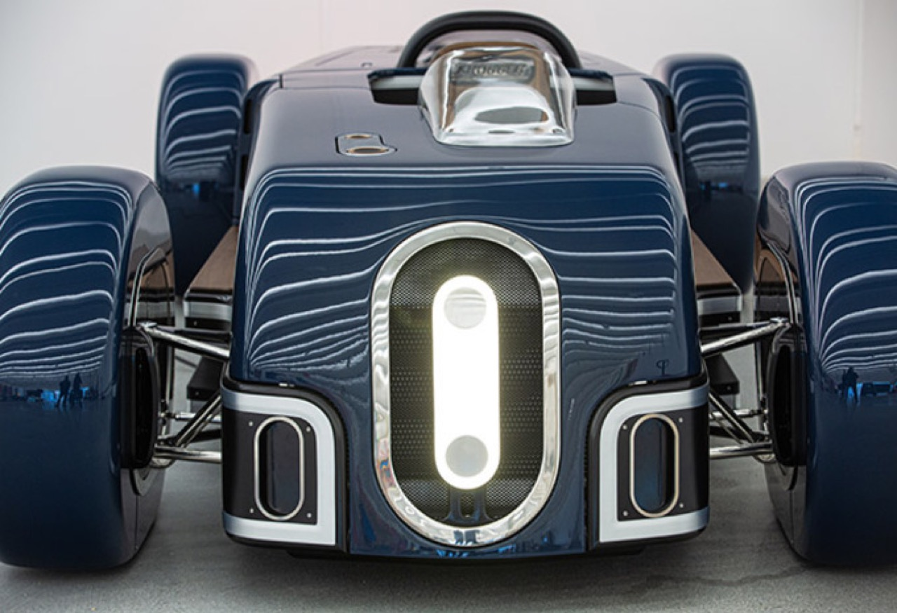 Belgian niche carmaker Krugger has unveiled its latest creation: the Krugger FD. The open-top one-seater is based on the 'streamline' design philosophy that used to be popular in the 1930s.